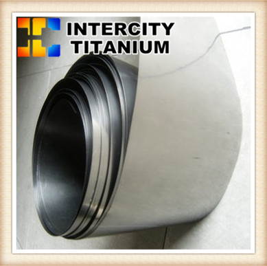 China titanium strip coil