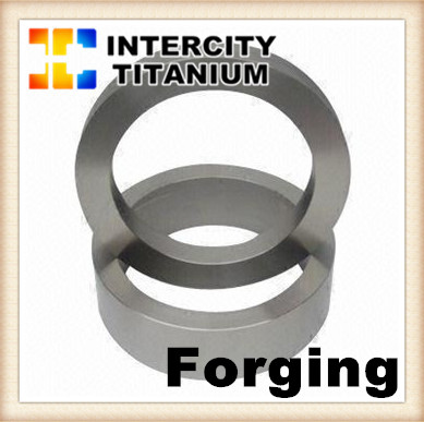 Titanium forgings, rings and discs